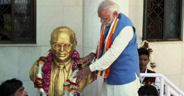 Appropriating Ambedkar: Why the BJP is on strong ground in its battle to co-opt the Hindutva critic