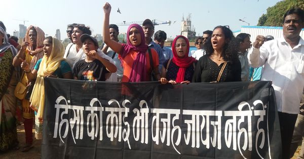 'This is goonda raj': Mumbai citizens protest the rapes in Kathua and Unnao