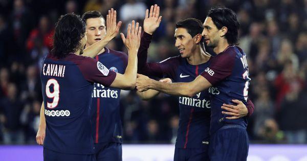 Di Maria, Lo Celso score braces in PSG's 7-1 rout of Monaco to win seventh Ligue 1 title