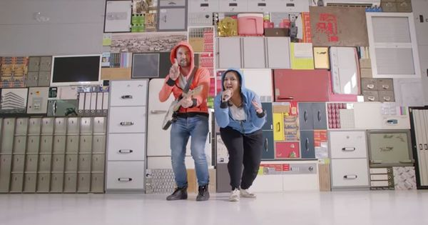 Watch: These rapping and dancing employees are a far cry from the usual corporate video