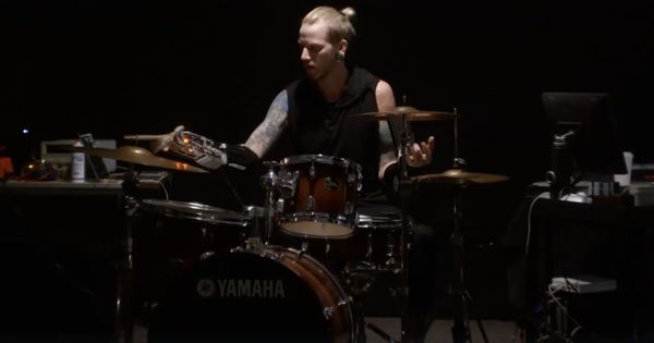 Watch: This bionic drummer can play beats that aren't humanly possible, thanks to a cyborg arm