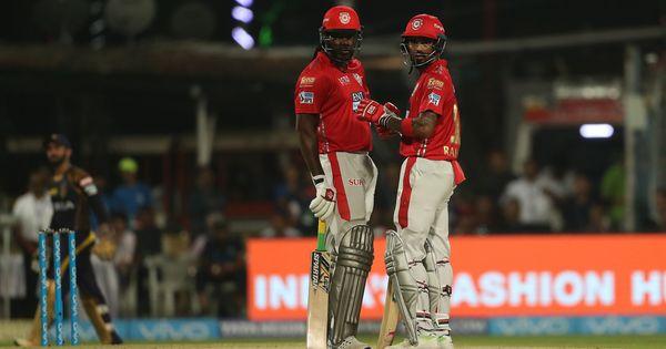 IPL 2018, KKR vs KXIP, Live: Rain halts play as Gayle and Rahul blow Kolkata bowlers away