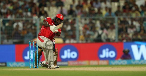 IPL 11: Chris Gayle and KL Rahul star as Kings XI Punjab outclass KKR in rain-hit encounter