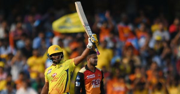 IPL 11: Rayudu's 37-ball 79 sets up Super Kings' last-ball victory against Sunrisers