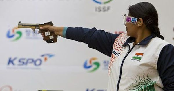 ISSF World Cup: Rahi Sarnobat finishes fourth in Women's 25m Pistol