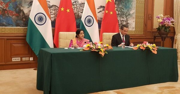 Sushma Swaraj urges Indians, Chinese to learn each other's languages