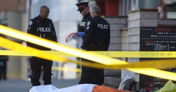 Canada: Van mows down pedestrians in Toronto, 10 killed, 15 injured