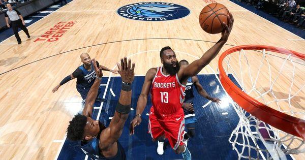 NBA: James Harden's third-quarter blitz helps Houston Rockets rout Minnesota Timberwolves