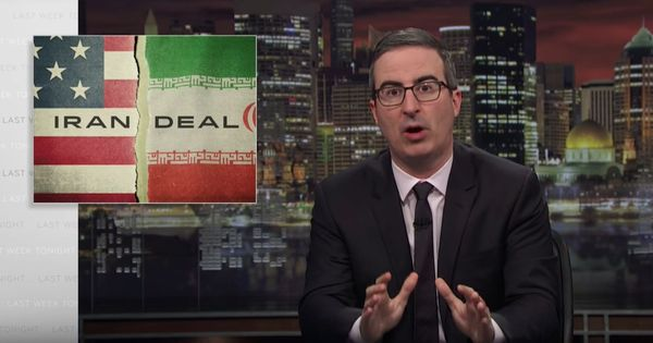 Watch John Oliver explain why Trump's ending the Iran nuclear deal would cause 'irreversible' damage