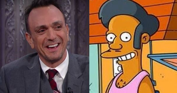 Hank Azaria, the voice of Apu in 'The Simpsons', says he's 'perfectly willing to step aside'