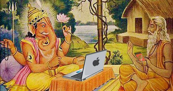 अथ श्री (इंटरनेटीय) महाभारत कथा : यदा यदा हि इंटरनेटस्य डाउनभवति भारत...