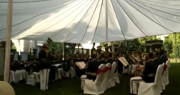 Watch a Pakistani military band play Boney M's 'Rasputin' to commemorate fallen troops