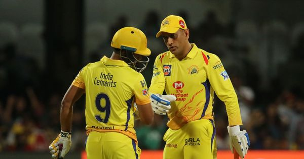 Finisher's job is not just to score but also help others score: Dhoni after 34-ball 70 against RCB