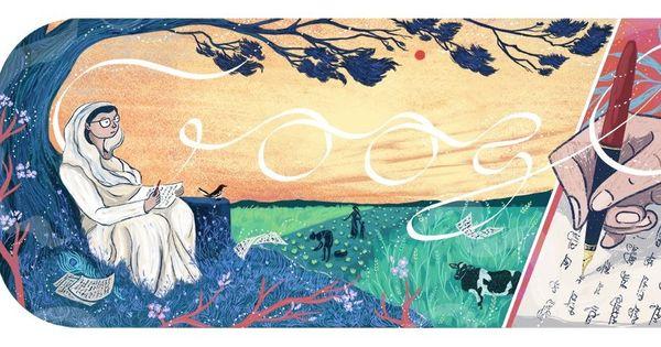 Google pays tribute to Hindi poet Mahadevi Varma with doodle