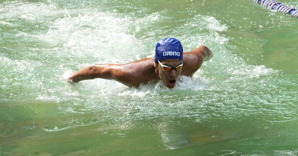 Focused and obsessively organised, 18-year-old swimmer Srihari Nataraj is making a splash
