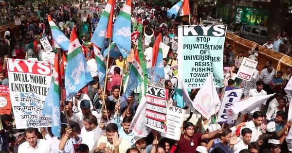 Video: Why students and teachers are protesting the UGC decision to grant autonomy