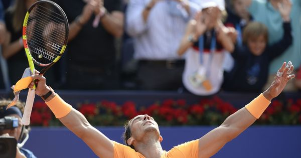 Landmark 400th clay court victory of Rafael Nadal's career as he storms into Barcelona final