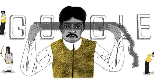 Dadasaheb Phalke at work: Google doodle pays tribute to the 'father of Indian cinema'