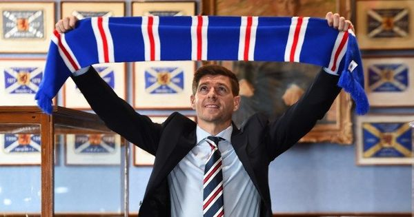 Football: Manager Steven Gerrard signs contract extension with Scottish club Rangers