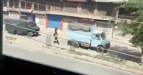 'Intentionally done': Video of a protestor being crushed by an armoured vehicle shakes Srinagar