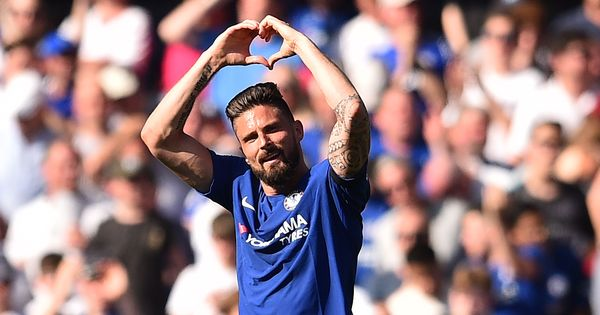 'Blue suits me well': Giroud ready to help Chelsea beat former club Arsenal in Europa League final