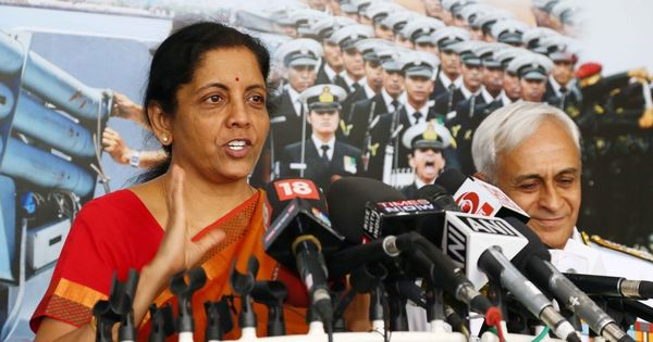 There is no tension between India and China, says Defence Minister Nirmala Sitharaman