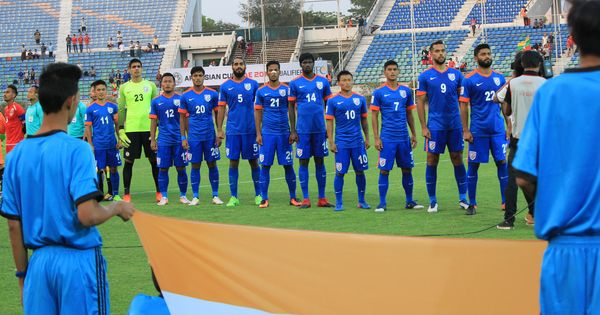 India jump one place to world No 96 in latest Fifa rankings