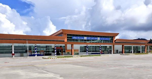 Narendra Modi inaugurates Sikkim's first airport at Pakyong