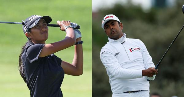 Indian golf: Lahiri finishes T-9 at Travelers, Aditi Ashok finishes T-55th in Arkansas