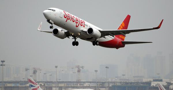 SpiceJet successfully operates India's first flight powered by biojet fuel