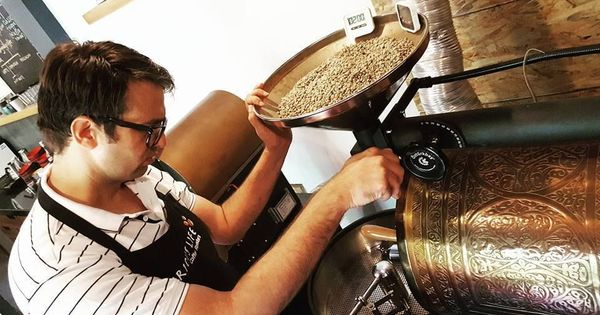 An ex-Army man in Jaipur is making incredible specialty coffee that's part science, part art