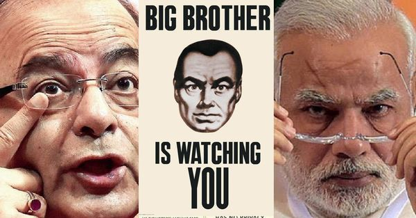scroll.in - Saikat Datta - The end of privacy: Aadhaar is being converted into the world's biggest surveillance engine