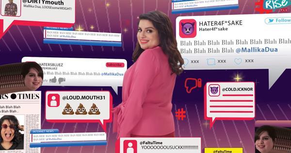 Watch: Comedian Mallika Dua hits back at trolls in new music video