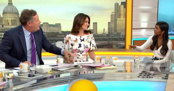 'I'm a Communist, you idiot': British TV host Piers Morgan gets a mouthful on live television