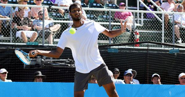 Ramkumar finishes as runner-up in first ATP final as Johnson lifts Newport title
