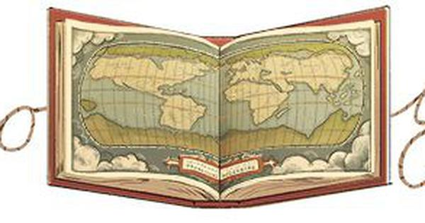 Google doodle honours cartographer Abraham Ortelius who created the world's first modern atlas