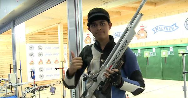 Shooting: Hriday Hazarika bags 10m air rifle gold at ISSF junior World Cup