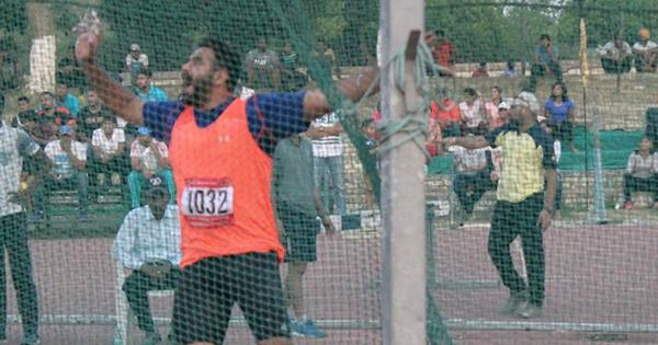 Discus thrower, sprinter suspended for testing positive for banned substance