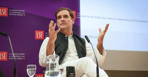 MHA says Rahul Gandhi's remark on resignation of Special Protection Group chief is 'devoid of fact'