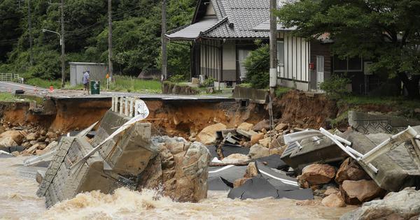 Japan: At least 28 killed, 50 missing as torrential rains cause mudslides, flooding
