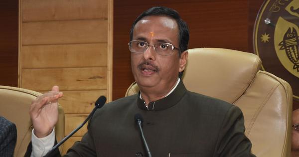 Live telecast began during the time of Mahabharata, claims Uttar Pradesh Deputy CM Dinesh Sharma