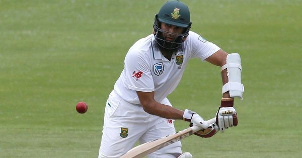 Hashim Amla's half-century steadies South Africa on Day 1 after New Zealand strike early
