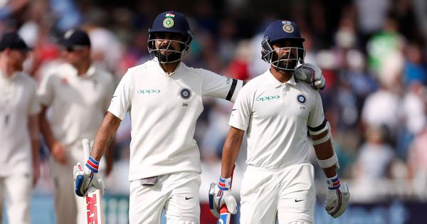 When India needed it the most, leaders Kohli and Rahane stood up and delivered