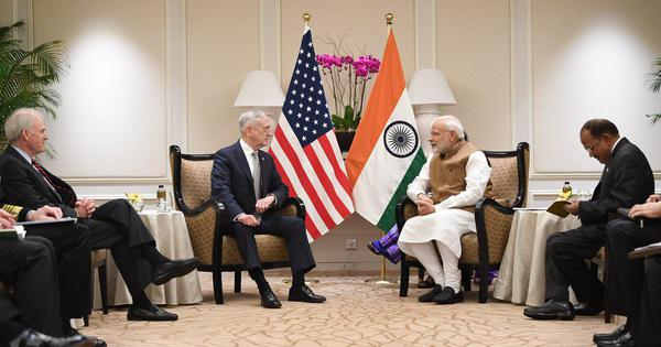 Narendra Modi meets US Defence Secretary James Mattis in Singapore