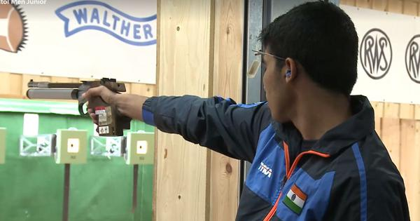 Shooting: Saurabh Chaudhary sweeps men's 10m air pistol trials in both senior and junior categories