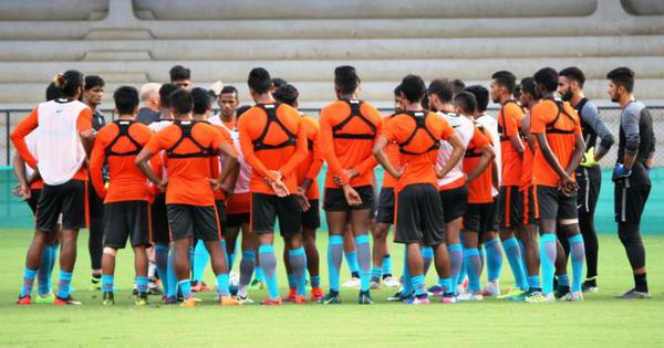 Football: India to take on Chinese Taipei in opening match of Intercontinental Cup