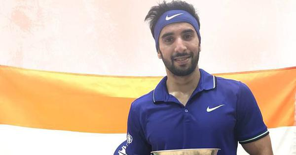 Squash: Top seed Vikram Malhotra loses in Canada challenger event final