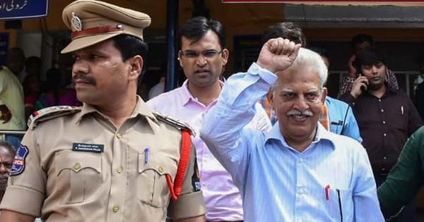 Varavara Rao gets six months bail on medical grounds in 2016 Surajgarh arson case too