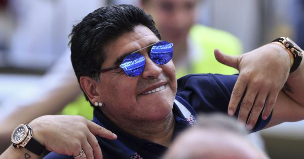 Diego Maradona to begin new role as president of Belarusian first division club Dinamo Brest