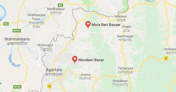 Tripura: Police briefly detain two men in connection with lynching of hawker in Murabari
